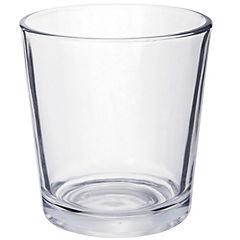 Set de vasos vidrio 150 ml 6 unidades transparente