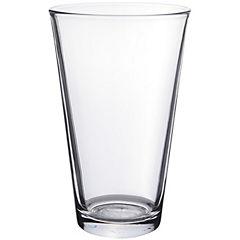 Set de vasos vidrio 90 ml 6 unidades transparente