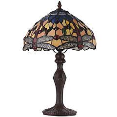 Lámpara de mesa 2 luces 46 cm 60 W