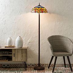 Lámpara de pie 2 luces 163 cm 60 W