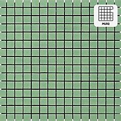 Malla vidrio 32,7x32,7 cm Menta