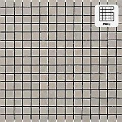 Malla vidrio 32,7x32,7 cm gris