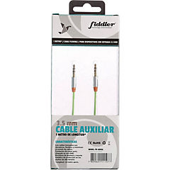 Cable audio verde