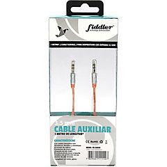 Cable de audio naranjo