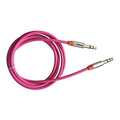 Cable de audio rosado