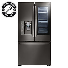 Refrigerador 691 litros French dor GM87SXD.ASBPECL Instaview negro