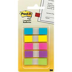 Banderitas 5 colores 100 unidades