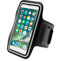 Funda de correr shield iphone 6 plus ksam-002p negro