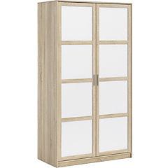 Closet Frame 118x60x218 cm oak-blanco