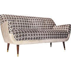 Sofa bentley 1,5mts lindsay vison- felpa beige