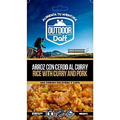 Arroz con cerdo al curry 200 gr