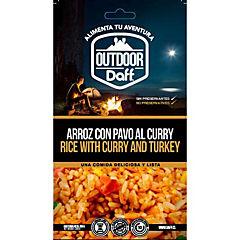 Arroz con pavo al curry 200 gr