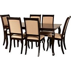 Juego  de comedor Oviedo 6 sillas 160x90 cm