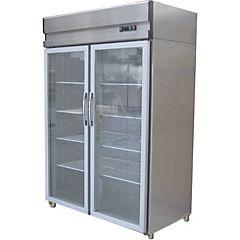 Refrigerador industrial no frost 1 cuerpo, 2 puertas de vidrio 900 litros