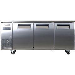 Mesón refrigerado no-frost 3 puertas 480 litros