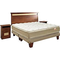 Box Europeo Cotton Organic 2,5 plazas bd + set Bamboo