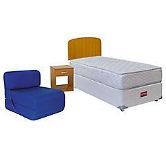 Box Americano Apolo 1,5 plazas +  set Asturias + sillón cama