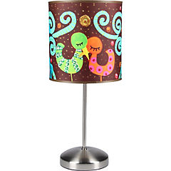 Lámpara de mesa Pajaritos 1 luz E27 60 W