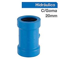 Copla reparación PVC 20 mm presión con goma