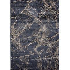 Alfombra negro 120x170 cm