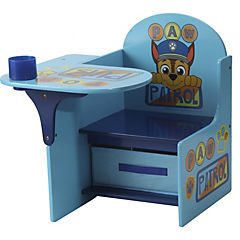 Pupitre con cajón 58x51 cm celeste/azul