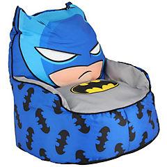 Sillón puff 45x45 cm azul