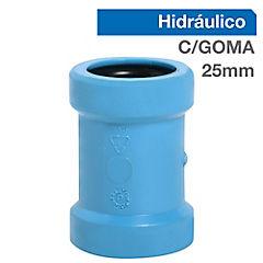 Copla reparación PVC 25 mm presión con goma