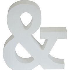 Figura decorativa & blanco