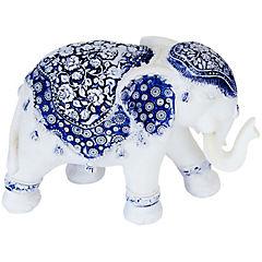 Figura elefante blue B 14X10 cm