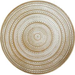 Plato madera deco tribal 29 cm