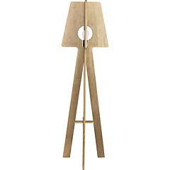 Lámpara de Pie madera E27 60 W