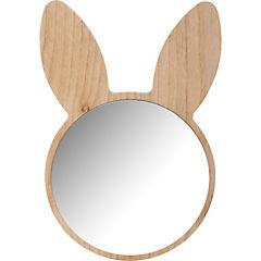 Espejo 19 cm madera terciada 19 cm