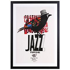 Cuadro Enmarcado Jazz 50x35 cm
