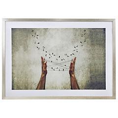 Cuadro Enmarcado Birds 70x50 cm