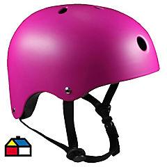 Casco onwheels rosado talla S