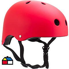 Casco onwheels rojo talla S