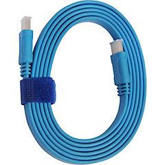 Cable HDMI 1.8 mts , 4k/3d azul