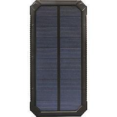 Power bank solar 12.000 mah negro