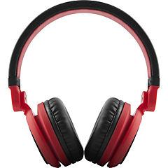 Audífono dj2 plegable rojo sin micrófono