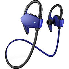 Audífono deportivo intra auditivo bluetooth azul
