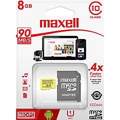 Micro Sd 8 Gb Cl10 Con Adaptador Uhs-1