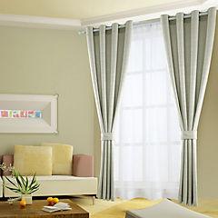 Combo cortinas y velos Martina 140x220 cm arena