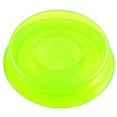 Tapa silicona flexible 5,5 cms. verde 2 uds.