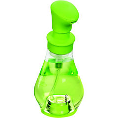 Dispensador de jabon verde, ahorra jabón utilizando sólo lo necesario