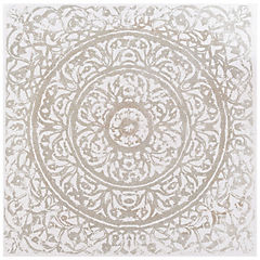 Oleo Mandala circular 90x90 cm