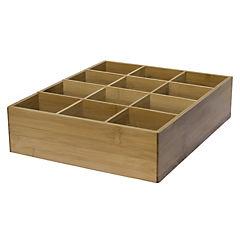 Organizador multiple bambú