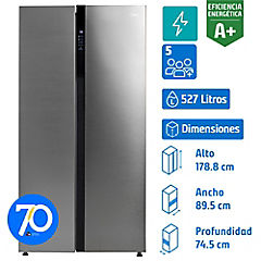 Refrigerador side by side 527 litros