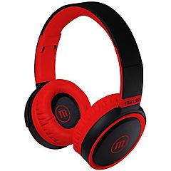 Audífono on ear b-52 deep bass blk rojo