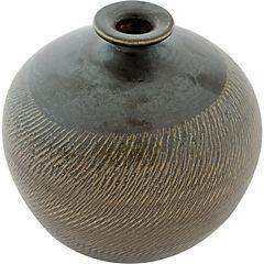 Florero cerámica gres 17 cm