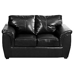 Sofá Omega Pu 156x82x92 cm negro